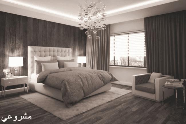 دهانات غرف نوم وما هي أسهل الطرق لاختيار اللون المناسب للحوائط